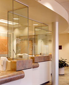 Kaiser reception area
